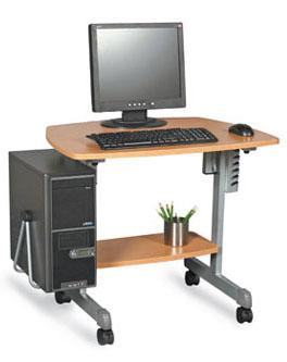 operar el equipo de computo bloque 1 On mobiliario adecuado para un equipo de computo